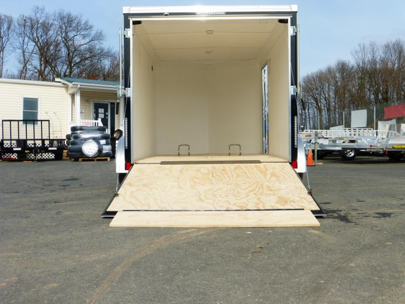 United Trailers XLMTV 7' x 12' Enclosed Cargo Trailer