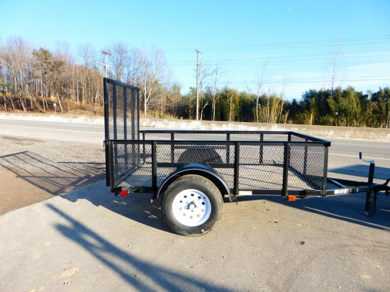 "Carry-On 5' x 8' Utility Trailer w/ 24"" Mesh Sides"
