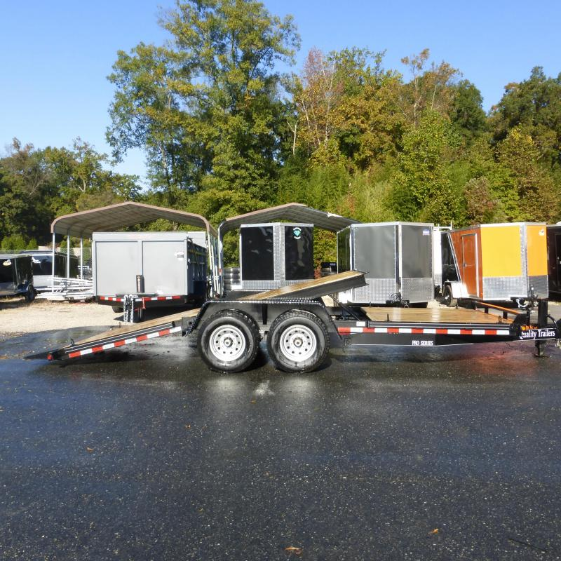 2019 Quality Trailers 7 X 20 Tilt Equipment Trailer 15K