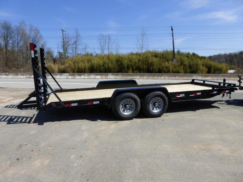 Dovetail Utility Trailer 7 X 20: New Enclosed Cargo Utility Landscape Equipment