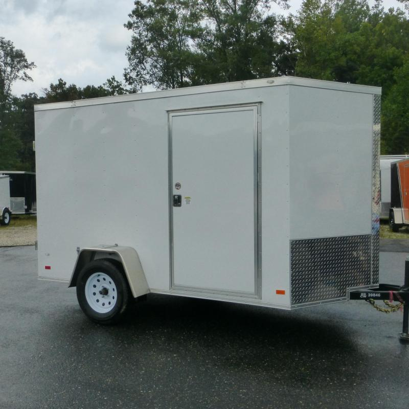 Diamond Cargo 6' x 10' V-Nose Enclosed Trailer w/ Cargo Doors