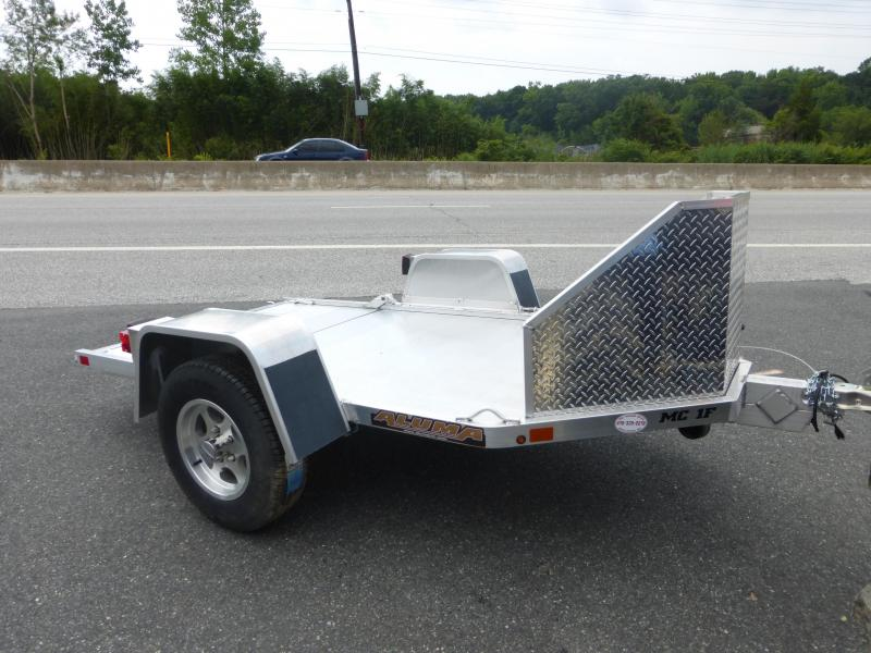 Aluma Folding Motorcycle Trailer 2K