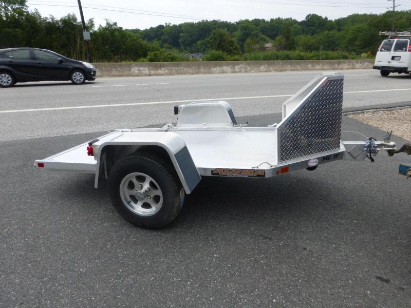 Aluma Folding Motorcycle Trailer