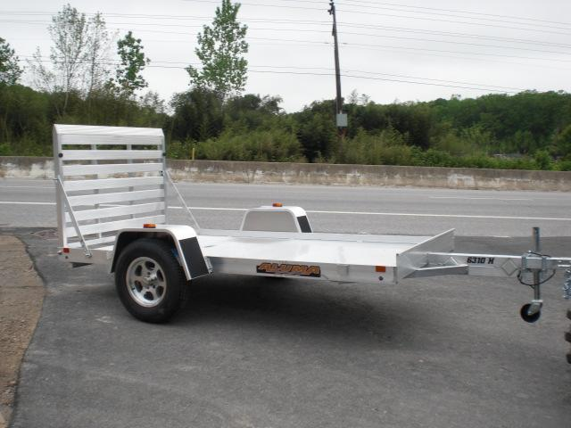 "Aluma 63"" x 10' Aluminum Utility Trailer"