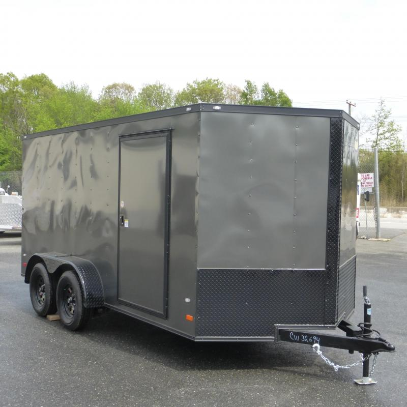 Covered Wagon Trailers CW7X14TA Enclosed Cargo Trailer