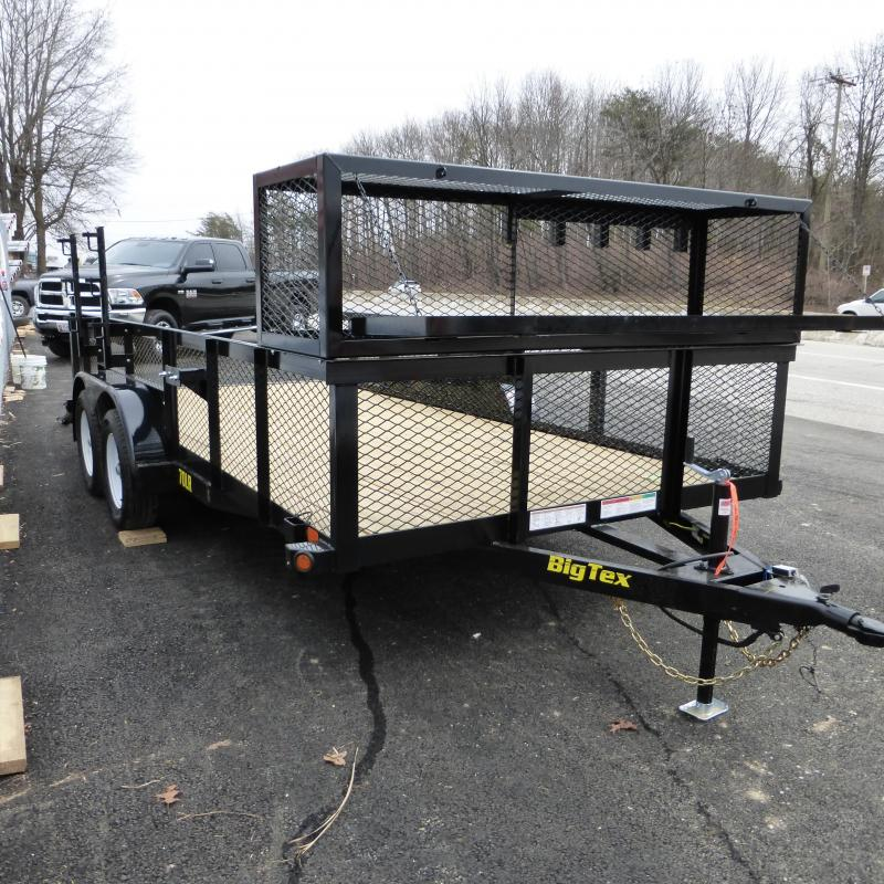 Big Tex Trailers 70PI-20X Utility Trailer Landscape Package