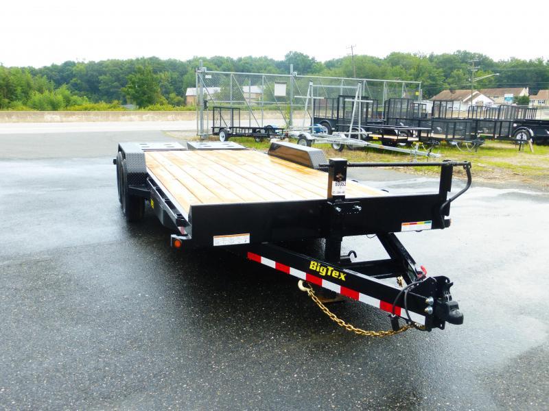 Big Tex Trailers 14ET-20 Equipment Trailer W/ MEGA RAMPS