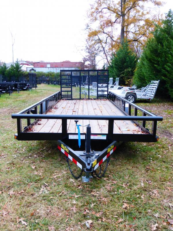 Big Tex 7' x 20' Pipetop Landscape Trailer w/HD Gate
