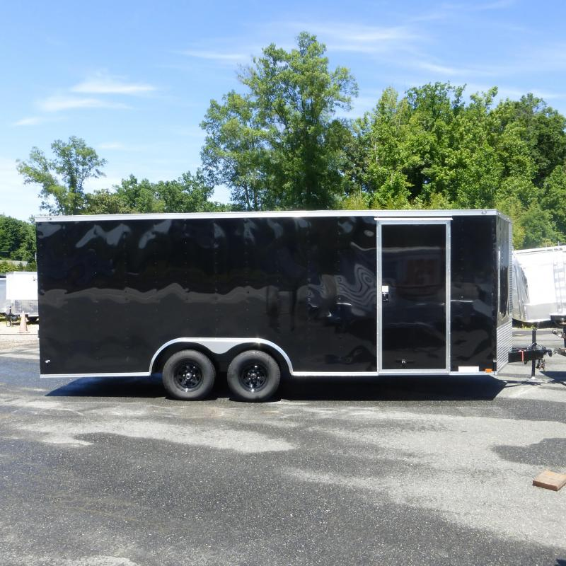 Lark 8.5' x 20' Enclosed Car Trailer with Torsion Axles-10K