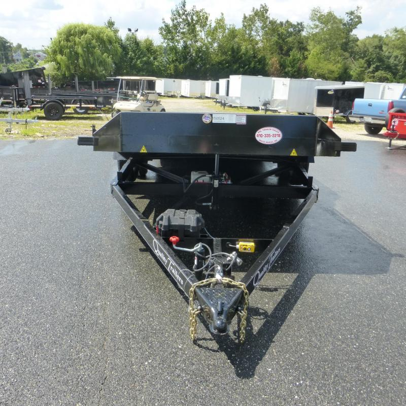 Quality 7' x 18' TILT Car Trailer