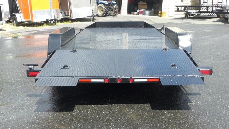 Quality Trailers 7X18TILT Car Trailer