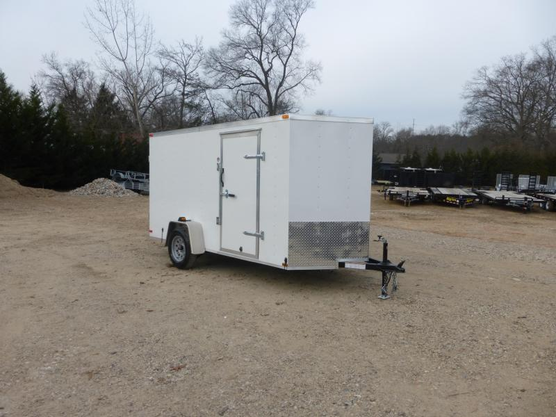 Lark 6' x 12' Enclosed Trailer w/ Cargo Doors