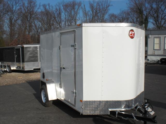 Wells Cargo VG series 6' x 10' V-Nose Enclosed Trailer w/ Ramp