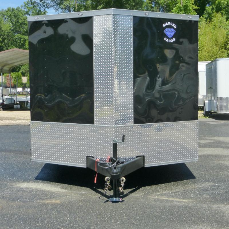 Diamond Cargo 8.5 X 20 Black Enclosed Cargo Trailer