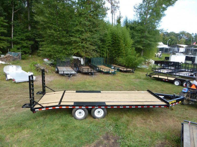 Big Tex Trailers 20 Flatbed Equipment Trailer