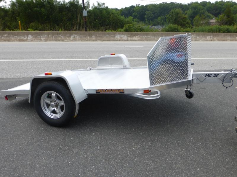 Aluma Folding 2 Place Motorcycle Trailer