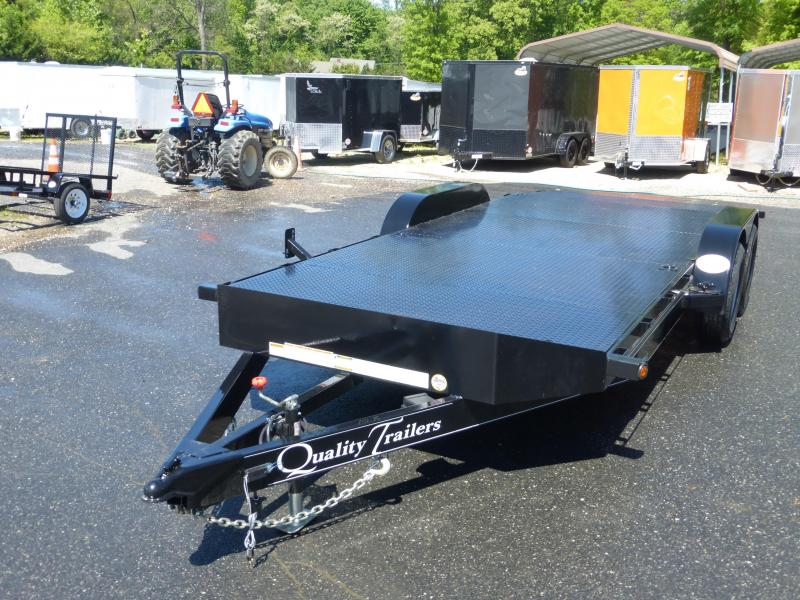 Quality 7' x 20'  Solid Deck Pro Series Car Hauler