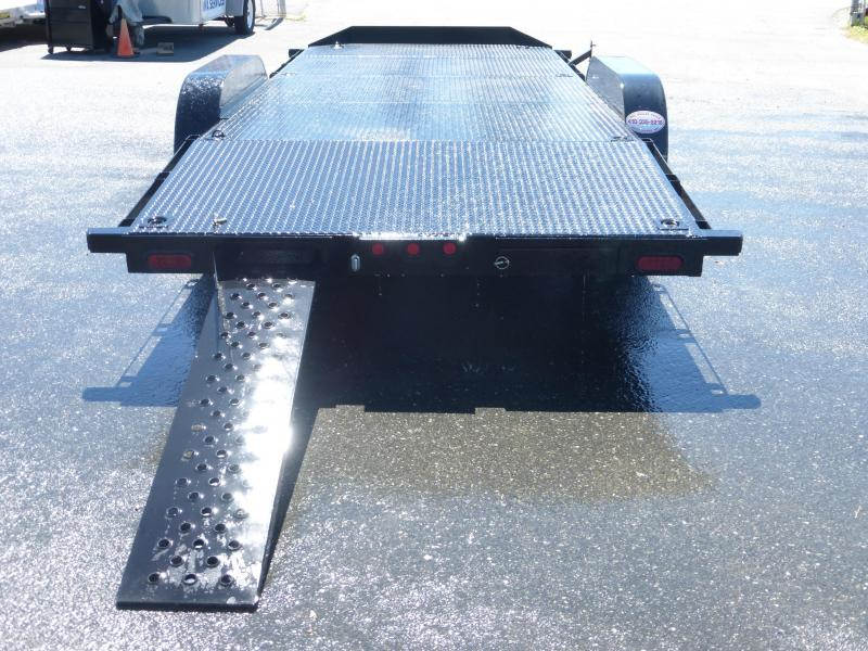 Quality Trailers 7' x 20'  Solid Deck Pro Series Car Hauler