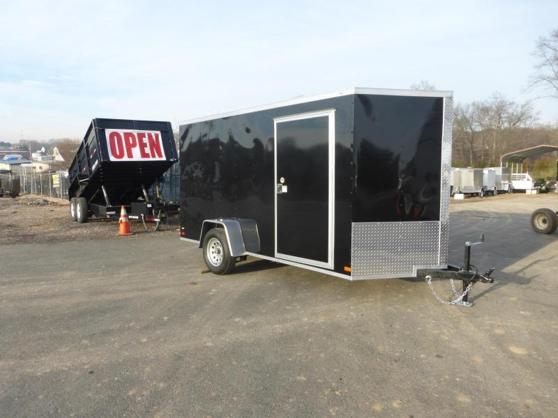 Covered Wagon Trailers CW6X12SA Enclosed Cargo Trailer