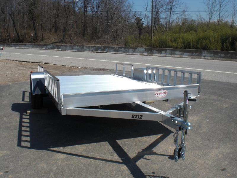 "Aluma 81"" x 12' Aluminum ATV Trailer"