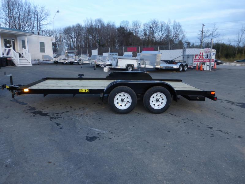 Big Tex Trailers 7' x 16' Wood Deck Car Hauler