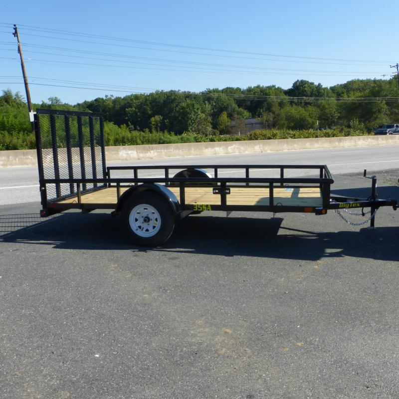 Big Tex 6' x 12' Landscape Trailer w/ Pipetop Rail