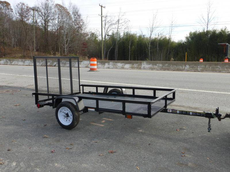 Carry-On 5' x 8' Landscape All Mesh Utility Trailer