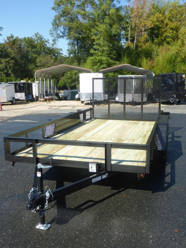 MCT 7' x 14' Tandem Axle Landscape Trailer