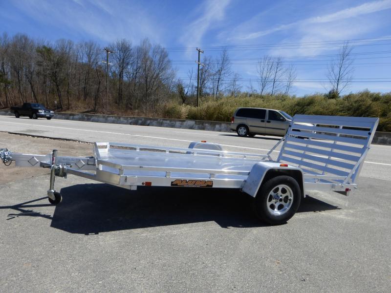 "Aluma 77"" x 10' Aluminum Utility Trailer"