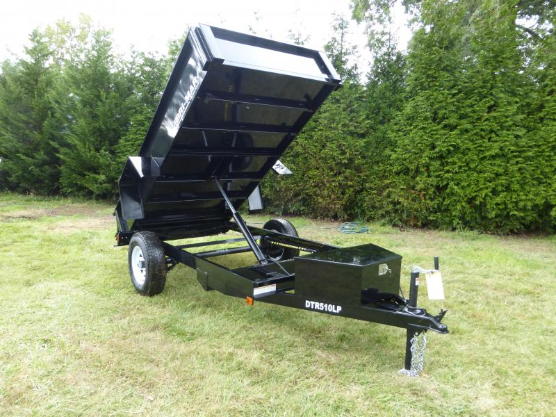 Bri-Mar 5' x 10' x 15' Single Axle Dump Trailer