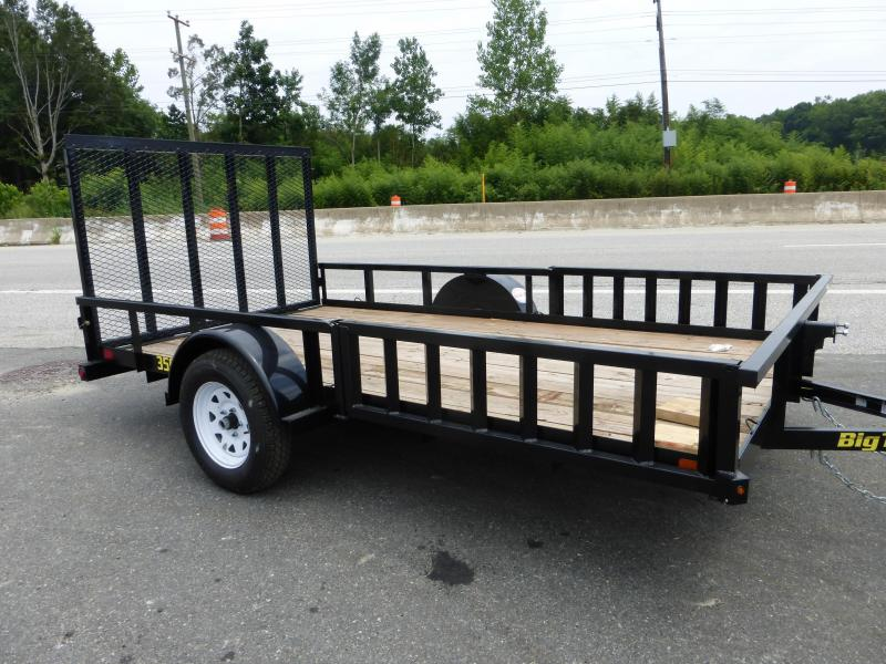 6' x 12' Big Tex Utility Trailer w/ Removable Ramps