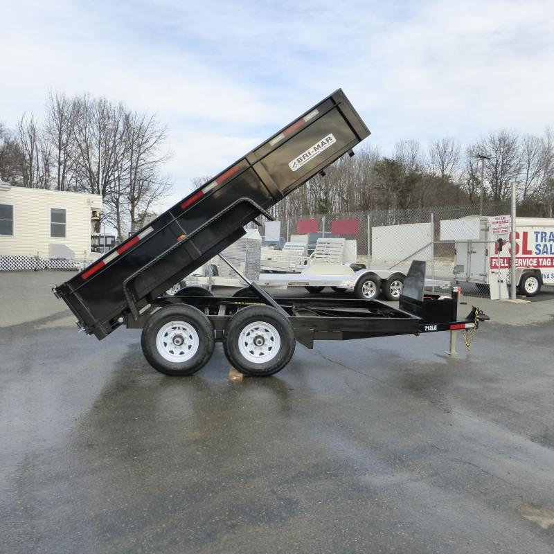 Bri-Mar 7' x 12' LE Dump Trailer
