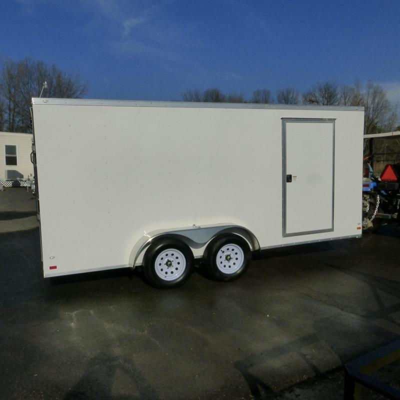 Covered Wagon Trailers 7X16TA Enclosed Cargo Trailer