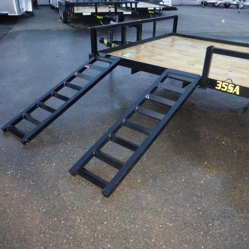 Big Tex 7' x 14' Single Axle ATV Trailer w/ removable ramps