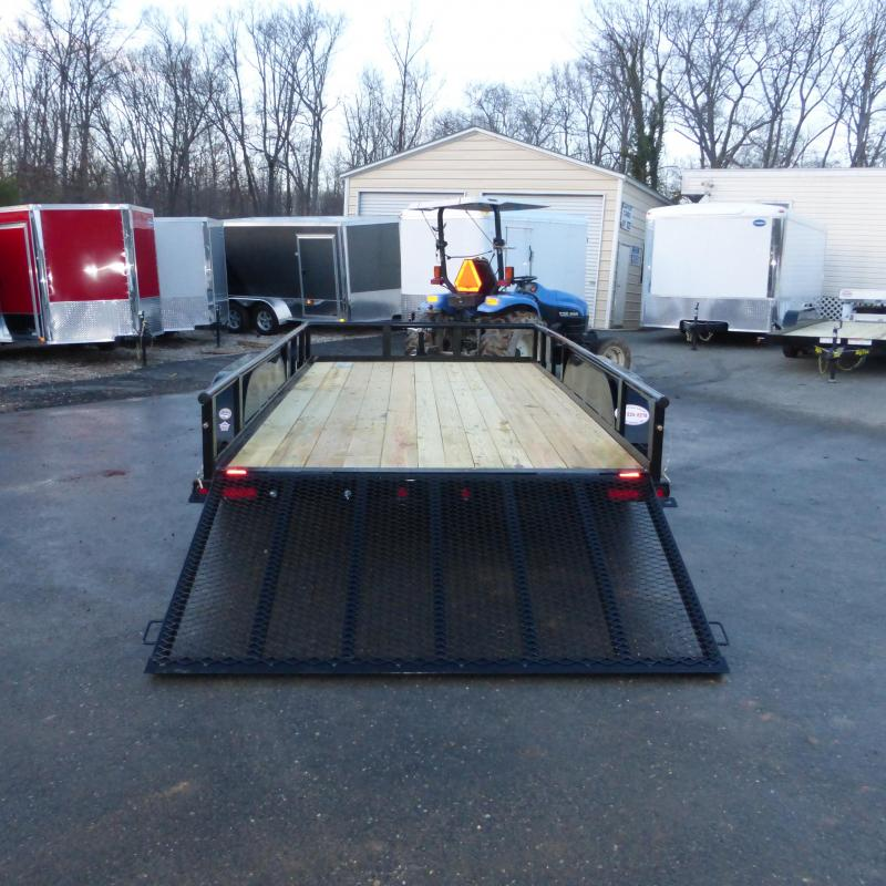 Big Tex 7' x 14' Utility Trailer w/ Spare Tire Mount
