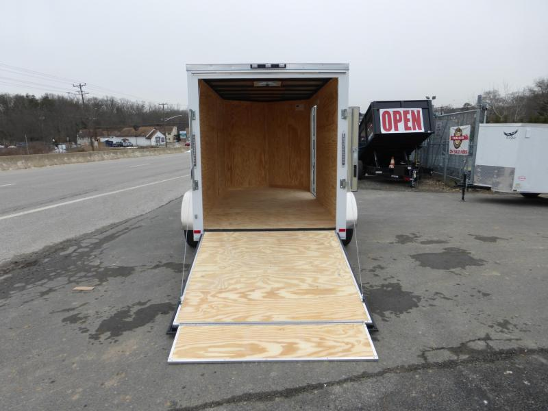 Covered Wagon Trailers 6X12TA Enclosed Cargo Trailer