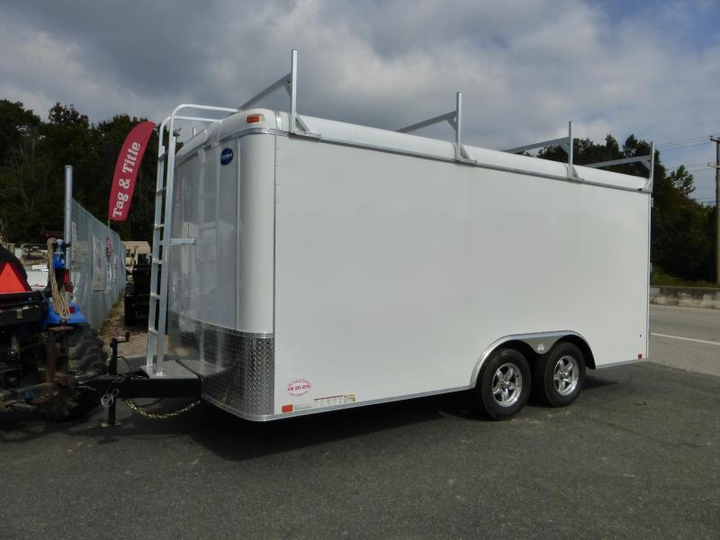 United Trailers UXT 8.5' x 16' TA Enclosed Cargo Trailer