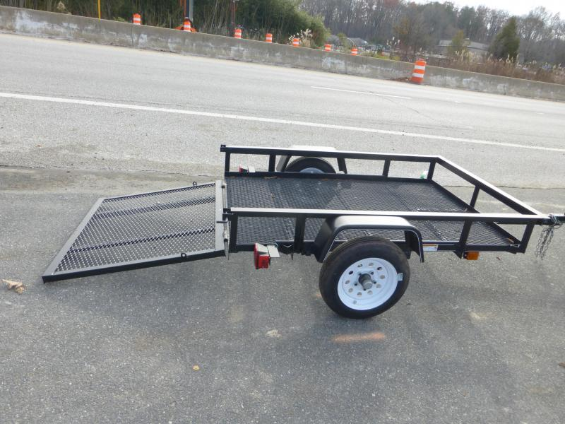 Carry-On 4' x 6' Landscape All Mesh Utility Trailer