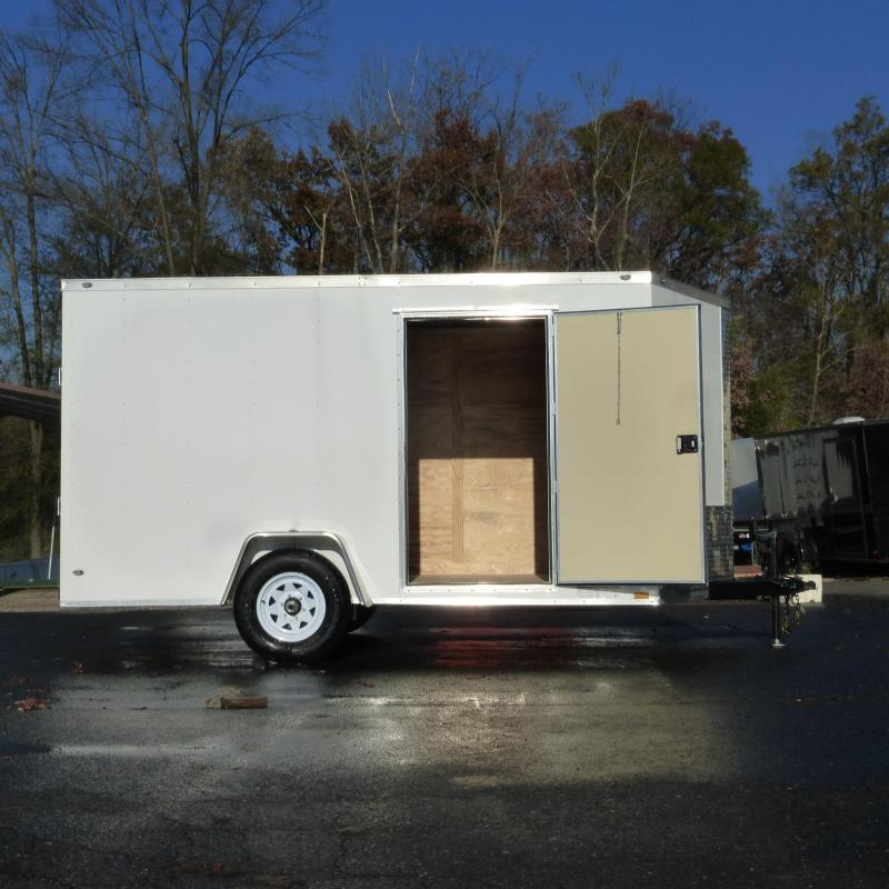 Diamond Cargo 6' x 12' Enclosed Trailer w/ Ramp