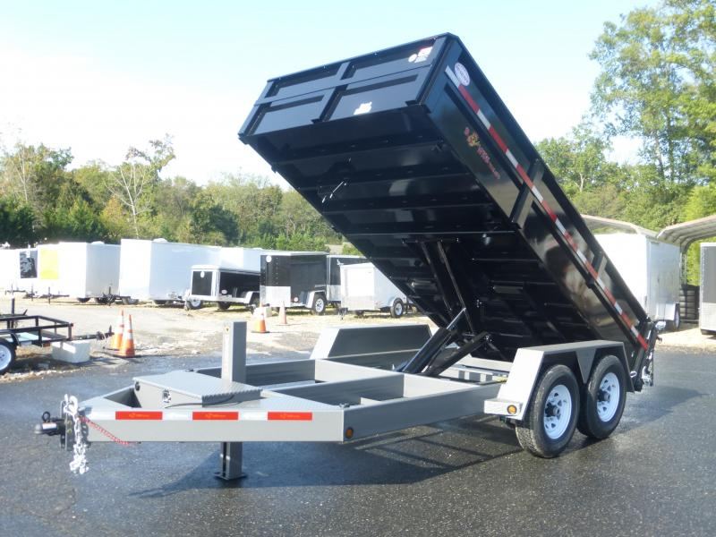 B-Wise DLP14-15 Dump Trailer