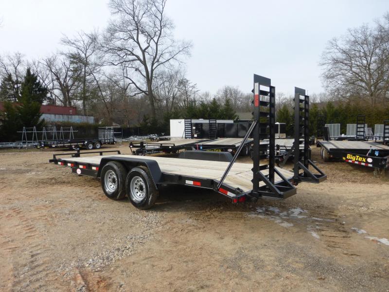 Quality 7' x 18' 12 K Equipment Trailer w/2' Dovetail