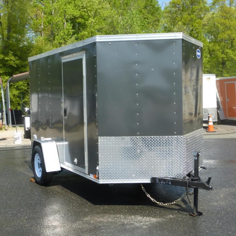United 6' x 10' Enclosed Cargo Trailer