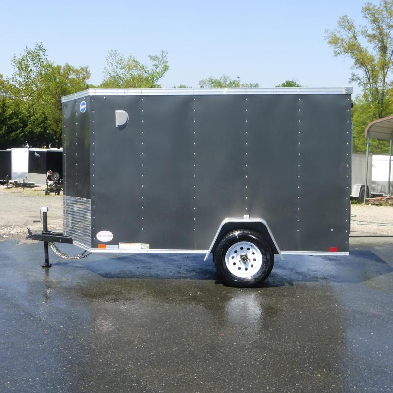 United 6' x 10' Enclosed Cargo Trailer