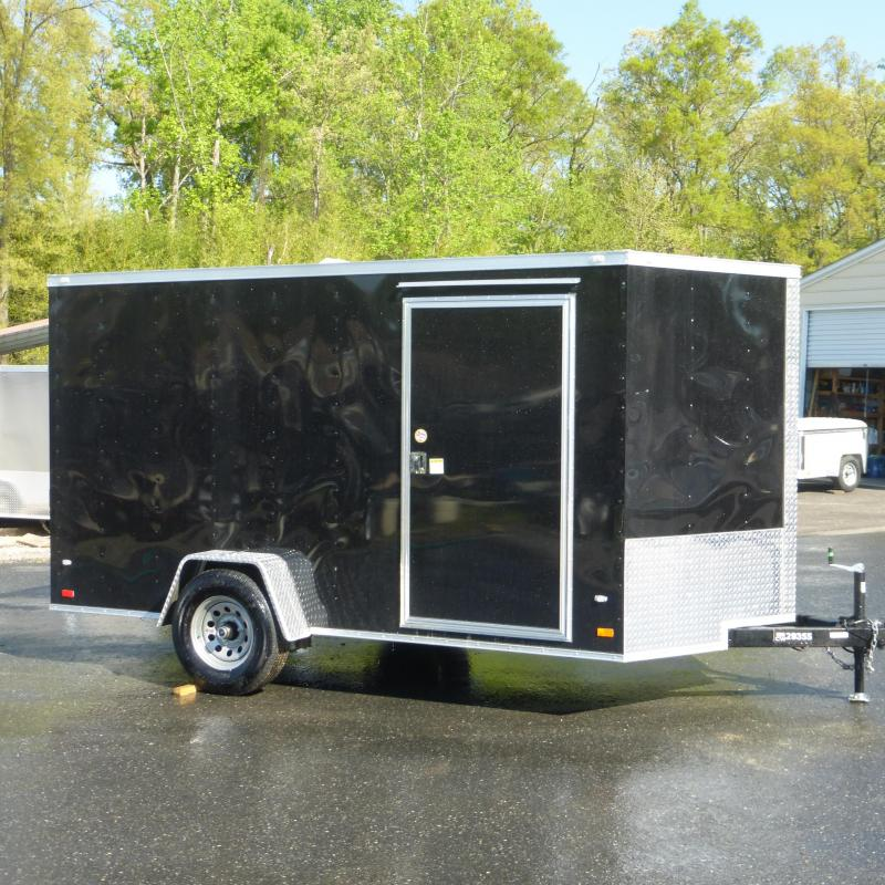 Covered Wagon Trailers 7x12sa Enclosed Cargo Trailer