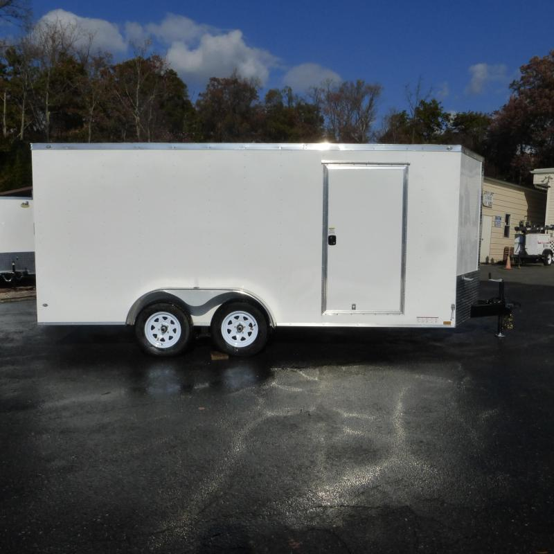 Diamond Cargo 8.5 x 16' V Nose Enclosed Car Hauler Trailer