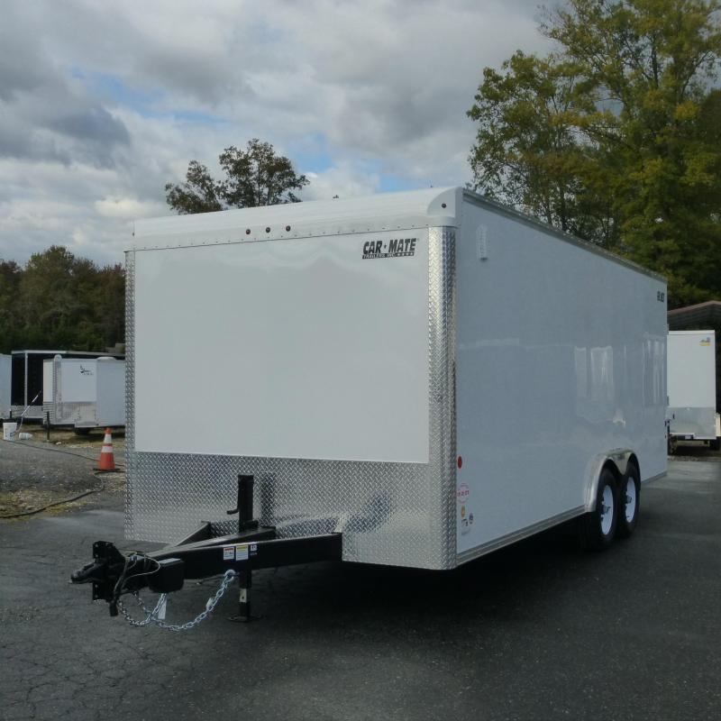 Car Mate 8' x 20' Enclosed Car Hauler w/ Torsion Axles