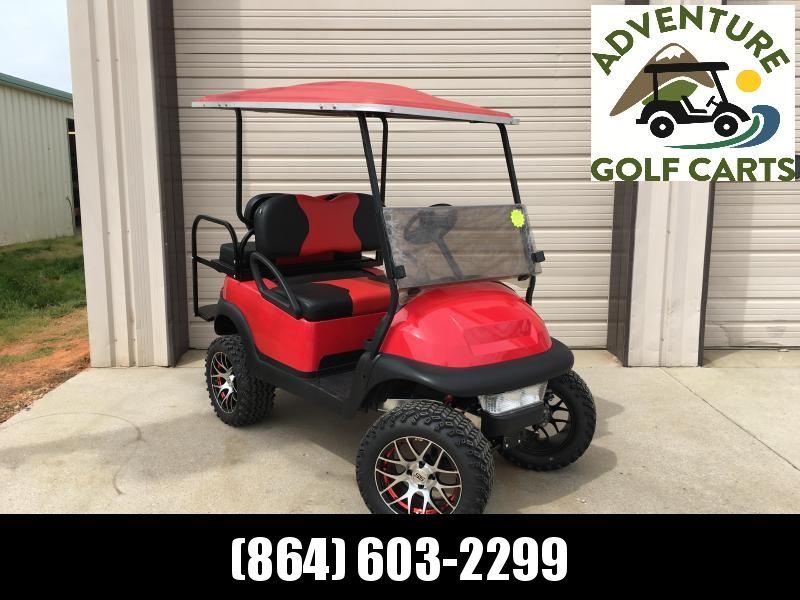 2014 Pre-Owned Club Car Precedent Electric Golf Cart Red