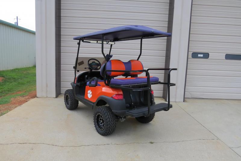 Lifted Clemson 2014 Club Car Precedent