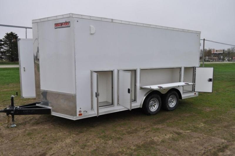 2020 Discovery 8.5 x 16 Enclosed 10K Tool Trailer in Ashburn, VA