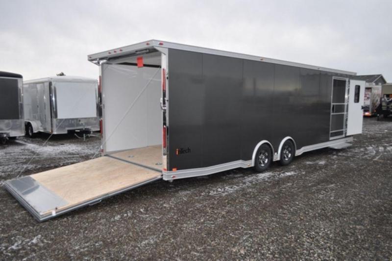 2019 InTech 8.5 x 28 All Aluminum Enclosed Car Trailer in Ashburn, VA